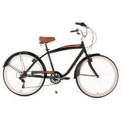 Kolo Beachcruiser Vintage Black, 26