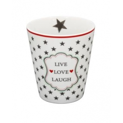Hrnek Star Live Love Laugh