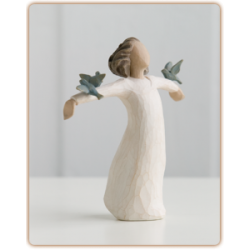 Willow Tree figura: Radost