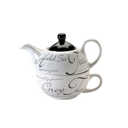 Čajový set Price & Kensington Script Tea For One